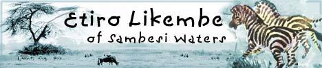 Etiro Likembe of Sambesi Waters